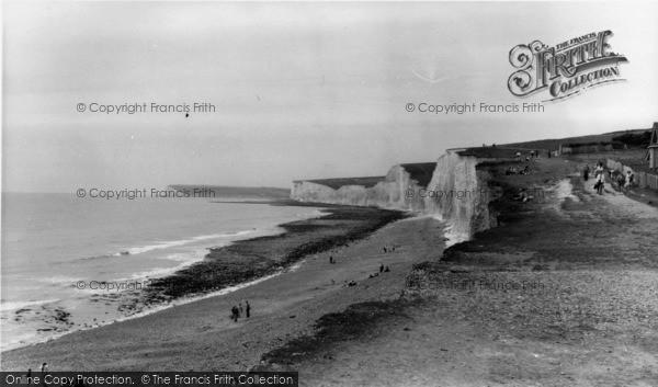 Photo of East Dean, The Cliffs c.1960