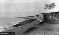 East Dean, The Cliffs c.1960