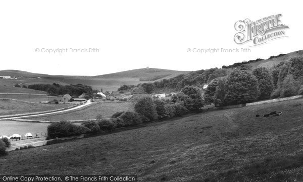 Photo of East Dean, The Downs c.1960