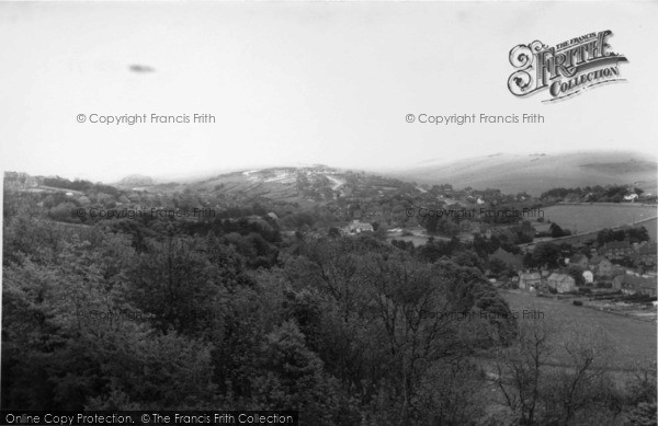 Photo of East Dean, The Downs c.1965