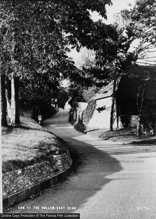 Photo of East Dean, The Hollow c.1960