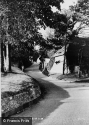 East Dean, The Hollow c.1960