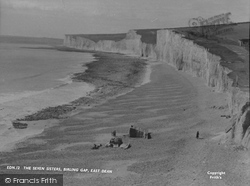 East Dean, The Seven Sisters, Birling Gap c.1955