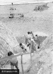 East Dean, The Steps, Birling Gap c.1960