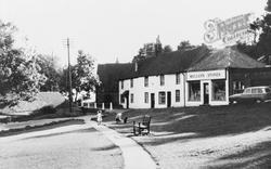East Dean, The Village c.1960