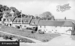 East Dean, Tiger Inn And The Green c.1955