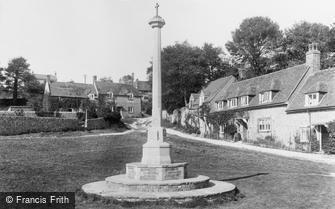 East Dean, War Memorial 1921