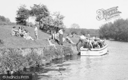 East Farleigh, Cruise Boat On The River Medway c.1960