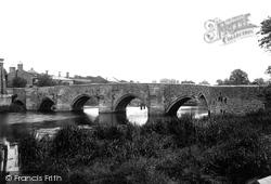 East Farleigh, The Bridge 1898