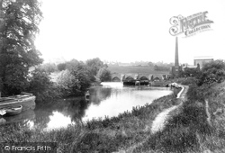 East Farleigh, The Bridge And The River Medway 1898