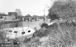 East Farleigh, The Bridge c.1960