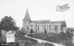 East Farleigh, The Church 1898