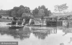 East Farleigh, The Lock c.1900