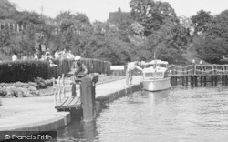 East Farleigh, The Lock c.1960