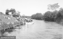 East Farleigh, The River Medway c.1960