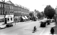 East Finchley, High Road c1965