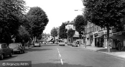 East Finchley, High Road c.1965