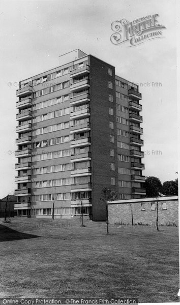 Photo of East Finchley, Norfolk Close c.1965