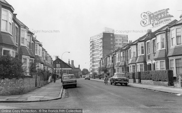 Photo of East Finchley, Prospect Ring From Kitchener Road c.1965