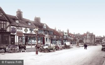 East Grinstead, High Street 1923