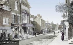 London Road 1914, East Grinstead