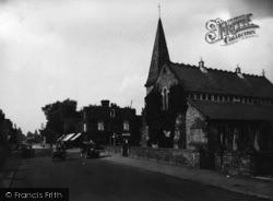 East Grinstead, London Road And Congregational Church 1928