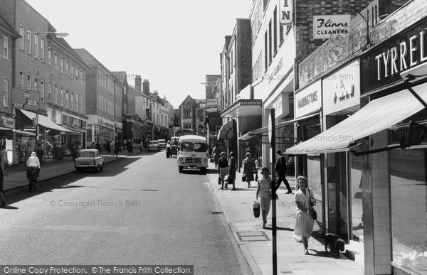 Photo Of East Grinstead London Road C 1965 Francis Frith
