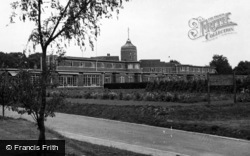 East Grinstead, Queen Victoria Hospital From The Drive c.1955