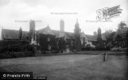 East Grinstead, Sackville College, North Front 1910