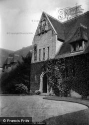 St Margaret's Convent, Front Door 1909, East Grinstead