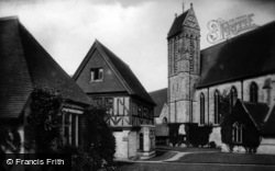 East Grinstead, St Margaret's Convent, Guest House And Chapel 1909