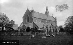 St Mary's Church 1914, East Grinstead