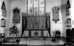 St Swithun's Church, Altar c.1965, East Grinstead