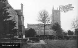 East Grinstead, St Swithun's Church And Vicarage 1911