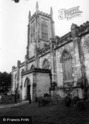 St Swithun's Church c.1965, East Grinstead