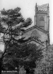 St Swithun's Church From East c.1965, East Grinstead