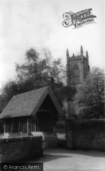 East Grinstead, St Swithun's Church From East c.1965