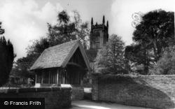 St Swithun's Church Lychgate c.1965, East Grinstead