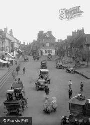 Traffic In High Street 1923, East Grinstead