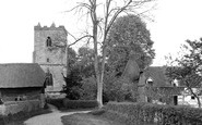 East Hagbourne, St Andrew's Church c1955