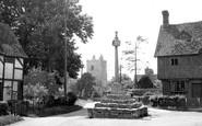 East Hagbourne, Upper Cross c1955