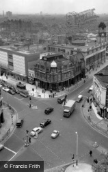 From Town Hall Tower c.1965, East Ham