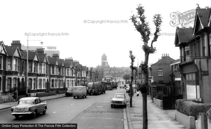 East Ham, North Circular Road c.1965