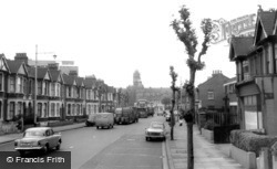 North Circular Road c.1965, East Ham