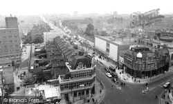 View From Town Hall Tower c.1965, East Ham