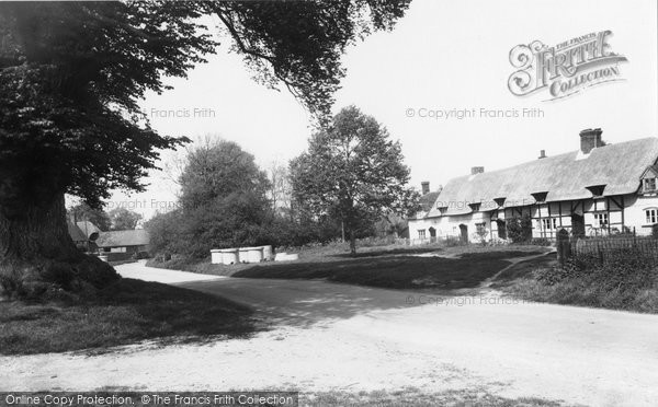 Photo of East Hanney, the Green 1956