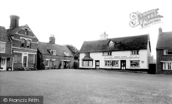 East Harling, The Square c.1965