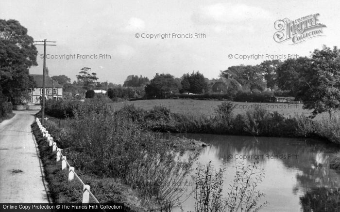 Photo of East Harting, Flood Pond c.1960
