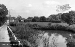 East Harting, Flood Pond c.1960
