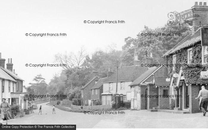 Photo of East Hoathly, High Street c.1955